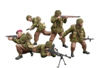 CB35130 Солдаты WWII British Paratroops In Combat Set A (Bronco Models) 1/35