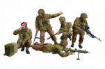 Солдаты WWII British Paratroops In Combat Set B (Bronco Models) 1/35 hfy100480