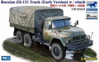 Грузовик Russian Zil-131 Truck (Early Version) w / winch (Bronco Models) 1/35 hfy101028