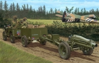 Автомобиль British Airborne 75mm Pack Howitzer & 1/4 Ton Truck w/Trail (Bronco Models) 1/35 hfy104886