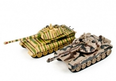ZEGAN T90 vs King Tiger 1:28