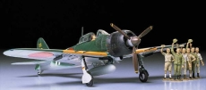 A6M5с Type 52 Zero Fighter (ZEKE), 7 фигур, масштаб 1:48