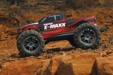 Traxxas E-Maxx Brushless MXL 1/10 (with Bluetooth module and telemetry) + NEW Fast Charger