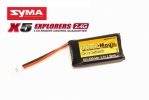 Аккумулятор LiPo 3,7В(1S) 700mAh 35C Soft Case JST-Molex plug (for Syma X5)