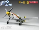 Радиоуправляемый самолет Art-tech P-51D Gunfighter Commemorative Edition EPO 2.4Ghz