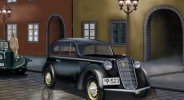 CB35054 Автомобиль German Light Saloon coach 1937 (Bronco Models) 1/35