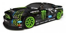 HPI E10 Ford Mustang Vaughn Gittin JR./MONSTER Energy 1/10