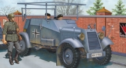 CB35051 Бронеавтомобиль German Adler Kfz.14 Radio Car (Bronco Models) 1/35