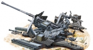Пушка german 3.7cm Flak 36 (Bronco Models) 1/35 hfy57521