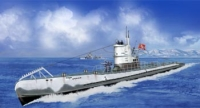 NB5008 Подводная лодка German long range submarine U-IX  (Bronco Models) 1/350