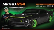 HPI Micro RS4 1969 Ford Mustang Rtr-x 1/18