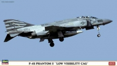 F-4S Phantom II Low Visibility CAG Limited Edition (HASEGAWA) 1/72