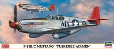 P-51B/C Mustang Tuskegee Airmen Limited Edition (HASEGAWA) 1/72