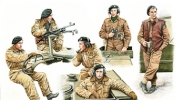 CB35098 Солдаты W.W.II British/Commonwealth AFV crew set (Bronco Models) 1/35