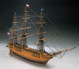 USS CONSTITUTION (Mantua) масштаб 1:98