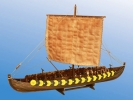 Viking Ship GOKSTAD, (мелкий) IX век масштаб 1:72