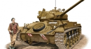 "Танк М-24 Chaffee"" British Version (Bronco Models) 1/35 hfy74975"