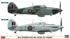 SEA HURRICANE Mk.IB/Mk.IIC COMBO (Two kits in the box) (HASEGAWA) 1/72