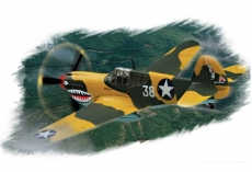 P-40E «Kitty hawk» (Hobby Boss) 1/72