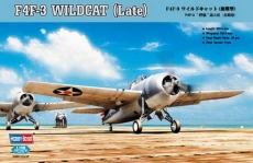 F4F-3 Wildcat (Late) (Hobby Boss) 1/48