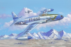 81725 Самолет F-80C Shooting Star fighter (Hobby Boss) 1/48