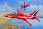 Самолет RAF Red Arrows Hawk T MK.1/1A (Hobby Boss) 1/48 hfy104091