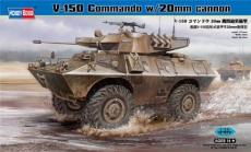 82420 БТР V-150 Commando w/20mm cannon (Hobby Boss) 1/35