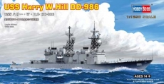 Корабль USS Harry W.Hill (DD-986) (Hobby Boss) 1/1250