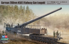 Орудие German 280mm K5(E) Railway Gun Leopold (Hobby Boss) 1/72