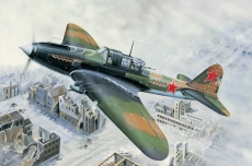 IL-2M Ground attack aircraft (Hobby Boss) 1/32