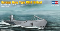 Подводная лодка German Navy Type VII-B U-Boat (Hobby Boss) 1/350