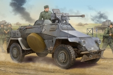 Бронеавтомобиль German Le.Pz.Sp.Wg Sd.Kfz.221 Leichter Panzerspahwagen-Early (Hobby Boss) 1/35