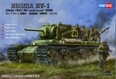 Russian KV-1 Model 1941 KV Small Turret Tank (Hobby Boss) 1/48