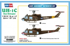UH-1C Huey Helicopter (Hobby Boss) 1/48