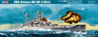 Корабль USS Arizona BB-39 (1941) (Hobby Boss) 1/350