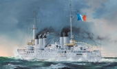 Корабль French Navy Pre-Dreadnought Battleship Condorcet (Hobby Boss) 1/350 hfy104093