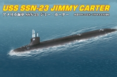 87004 Подводная лодка USS SSN-23 JIMMY CARTER ATTACK SUBMARINE (Hobby Boss) 1/700