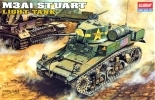 U.S. M3A1 Stuart Light Tank, масштаб 1:35