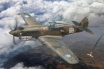FB4006 Самолёт Curtiss P-40C (Hawk 81-A2) Fighter -AVG Flyng Tigers (Bronco Models) 1/48