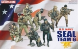 Фигуры солдат U.S.NAVY Seal Team 6, масштаб 1:35