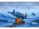 F4U-4 Corsair Late version, масштаб 1:48
