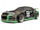 Дрифт 1/18 - Micro RS4 Drift Fail Crew Nissan Skyline R34 GT-R