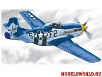 Mustang P-51D-15, масштаб 1:48