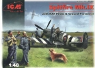 Spitfire Mk.IX with RAF Pilots & Ground Personnel, масштаб 1:48