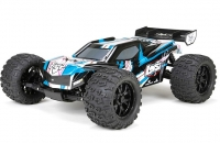Трагги Losi TEN-MT Brushless 4WD AVC 1:10 (черный/синий)