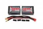 Team Orion Batteries 7.4V 5800mAh 100C LiPo Saddle pack Tubes plug