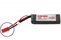 Team Orion Lipo 1300 3S 11.1V 50C With LED Charge Status