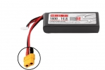 Li-Po 14,8В(4S) 1800mah 50C SoftCase XT60 plug with LED charge status