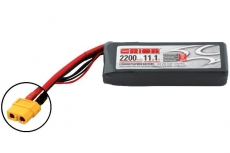 Team Orion Lipo 2200 3S 11.1V 50C With LED Charge Status