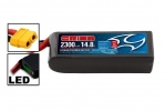 Li-Po 14,8В(4S) 2300mah 55C SoftCase XT60 Racing Drone Battery